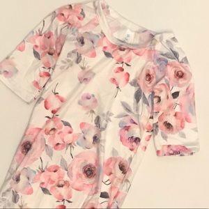 Watercolor sleep gown